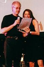 Brent Spiner and Marina Sirtis